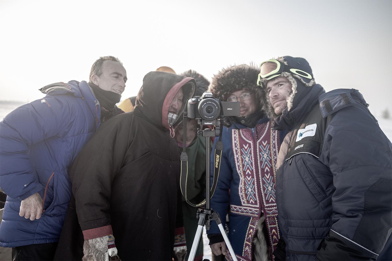 Amigos del ártico ruso