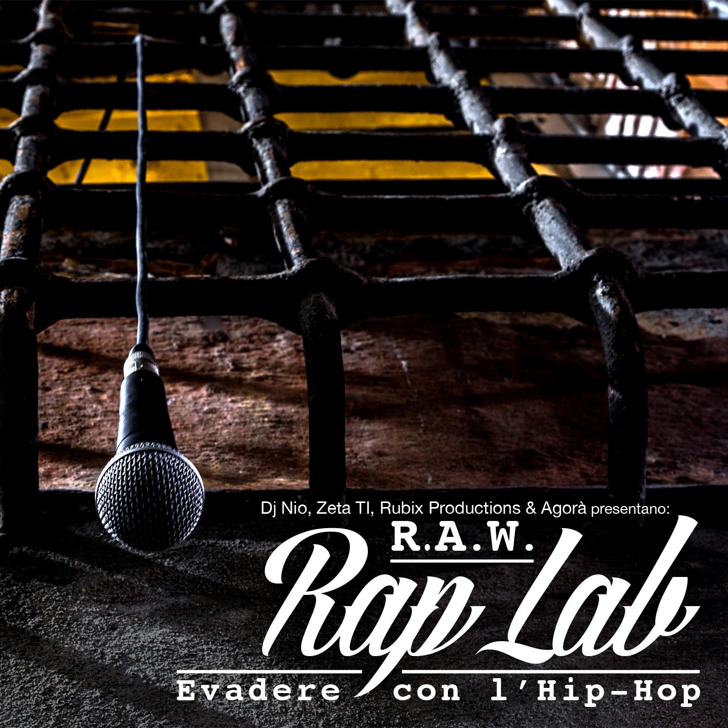 RAW Rap Lab - Cover