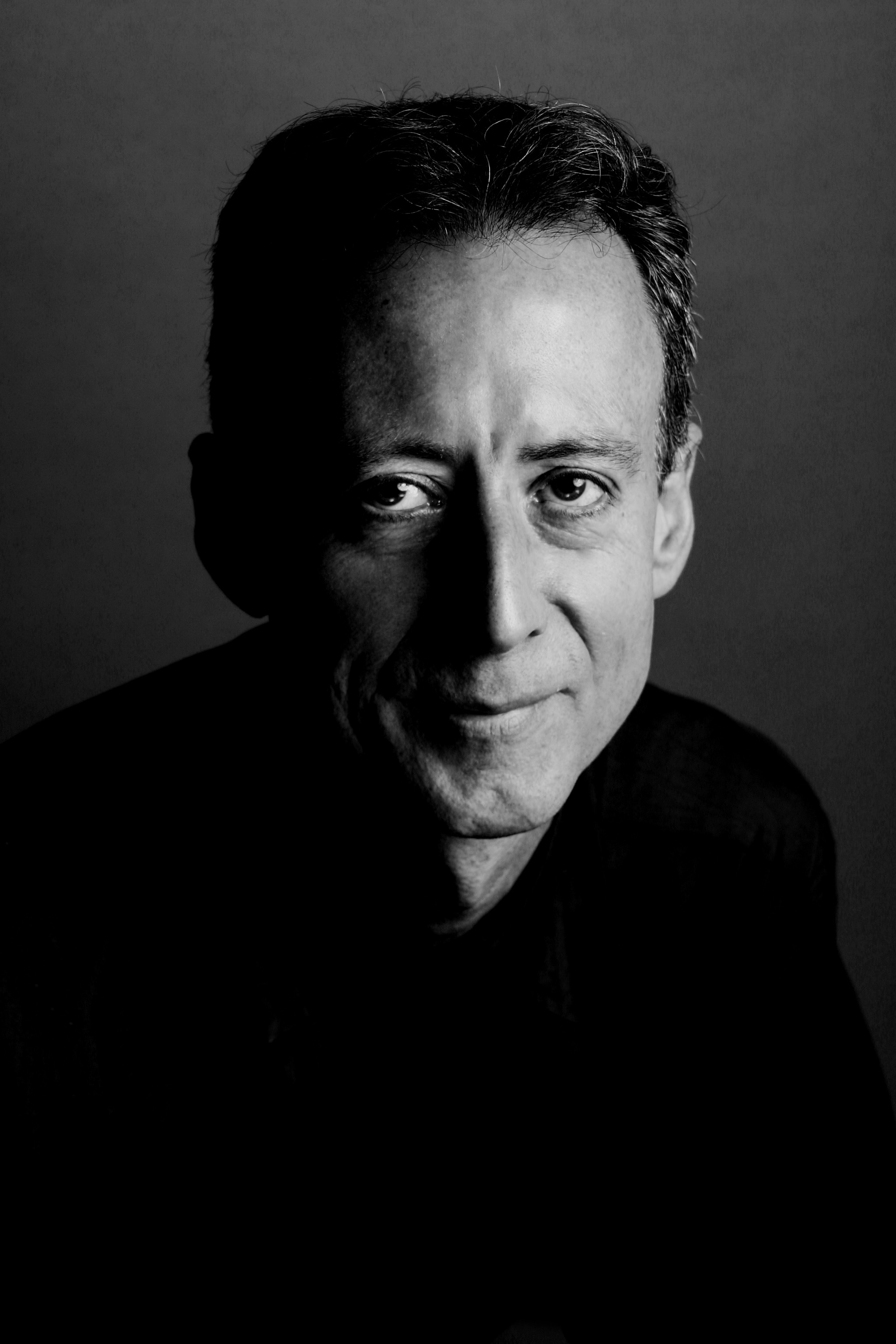 Peter Tatchell, human rights campaigner. Photographed for Bent magazine