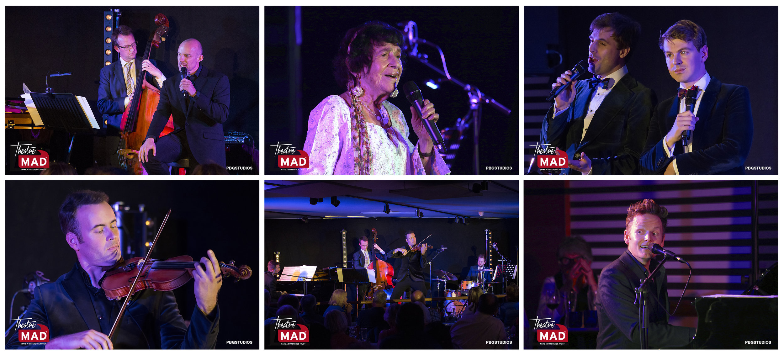 Gary Williams and friends cabaret in aid of the MAD trust (see Press and Events page for full gallery)