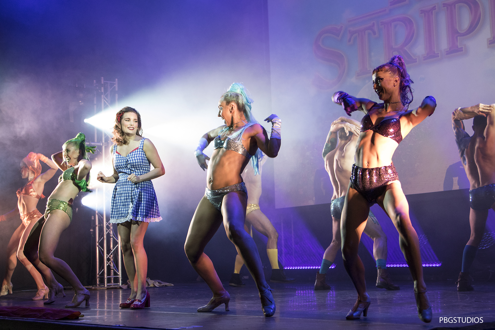West End Bares Ruby Strippers show at the Novello Theatre (see Press and Events page for full gallery)