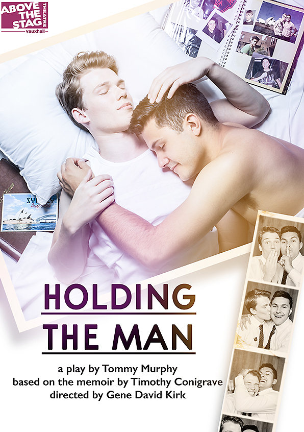 Jamie Barnard and Ben Boskovic in Holding the Man (ATS productions)