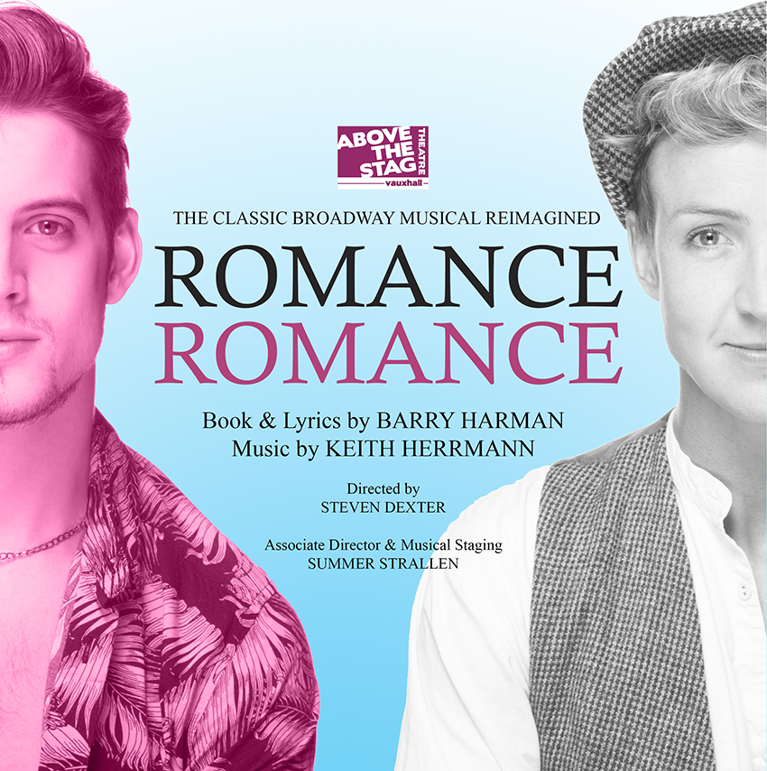 Ryan Anderson and Jordan Lee Davies in Romance Romance - ATS production (concept A/W)