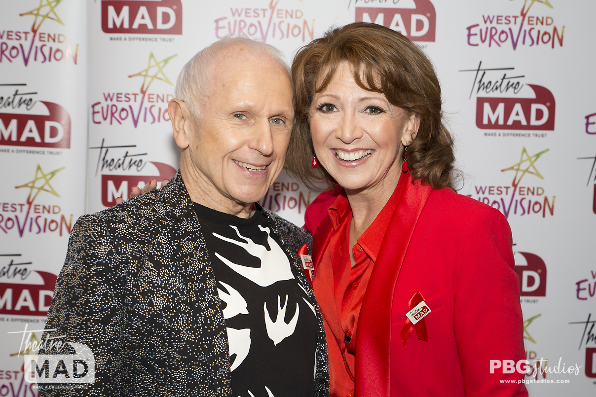 Wayne Sleep and Bonnie Langford - West End Eurovision 2019