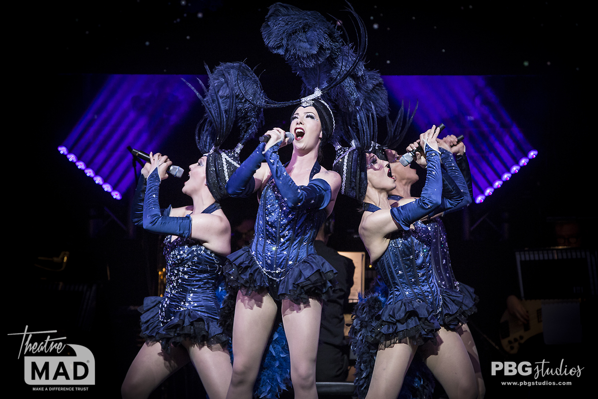 cast of Follies - West End Eurovision 2019 (Adelphi Theatre)