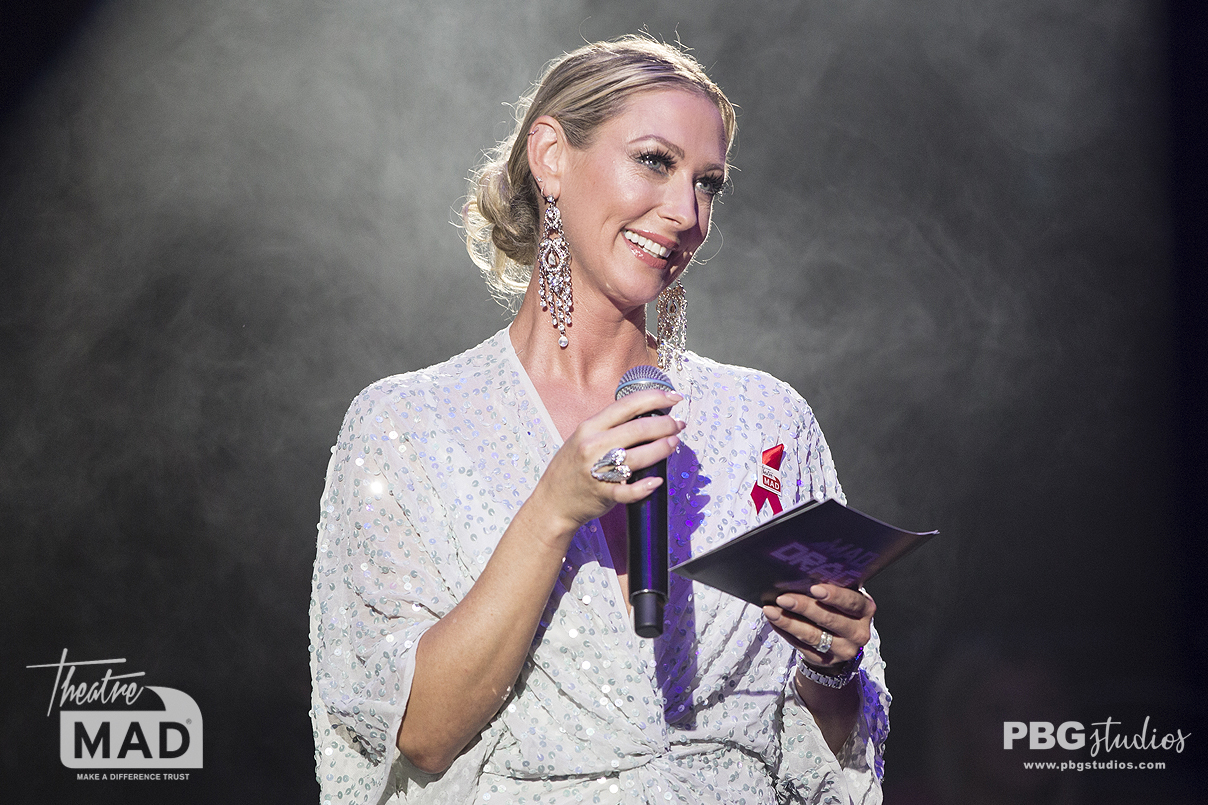 Faye Tozer at MAD DRAG Night fundraiser for MADtrust (Proud Embankment)