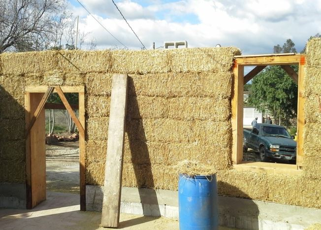 Project Mexico & St  Innocent Orphanage - The Straw-Bale House