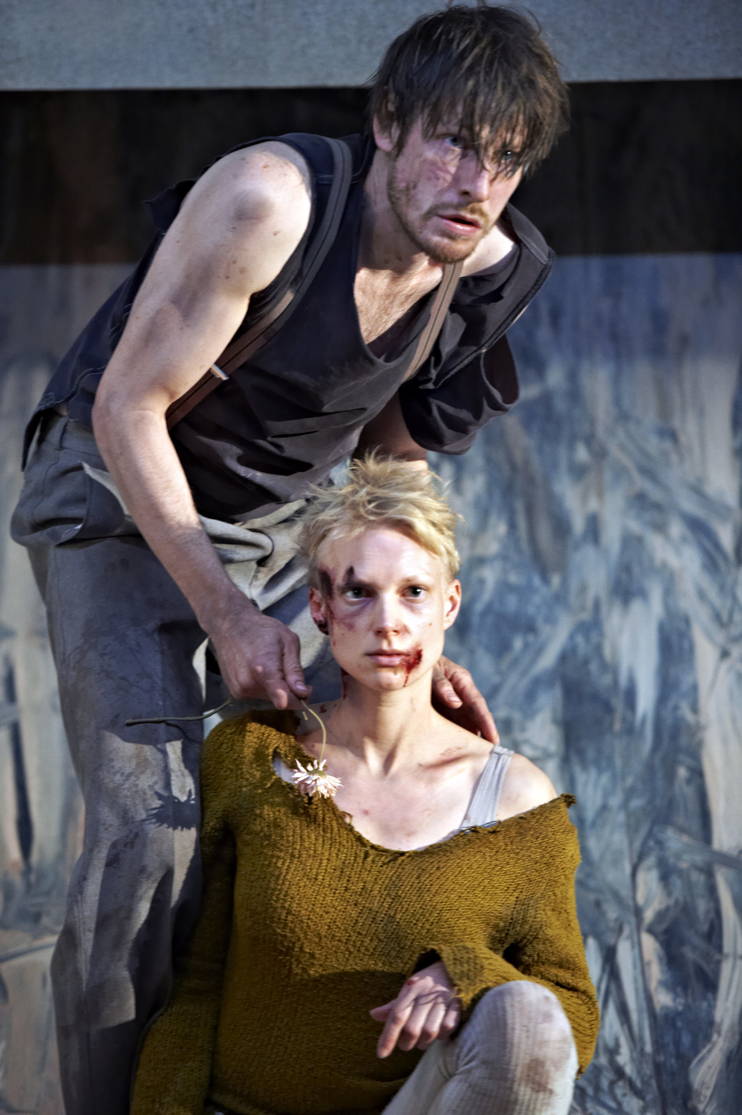As Natasha in The Lower Depths by Gorky. Directed by Michael Thalheimer. Schaubühne 2015. Photo: Katrin Ribbe.