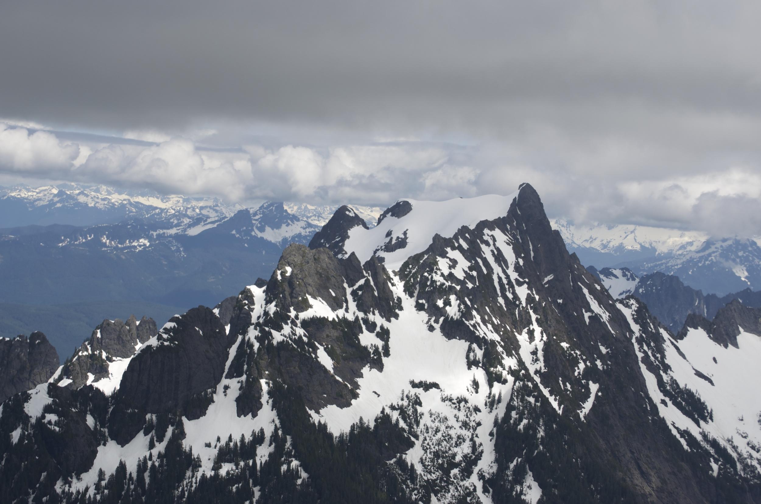 Mt. Pilchuck from Grumpy