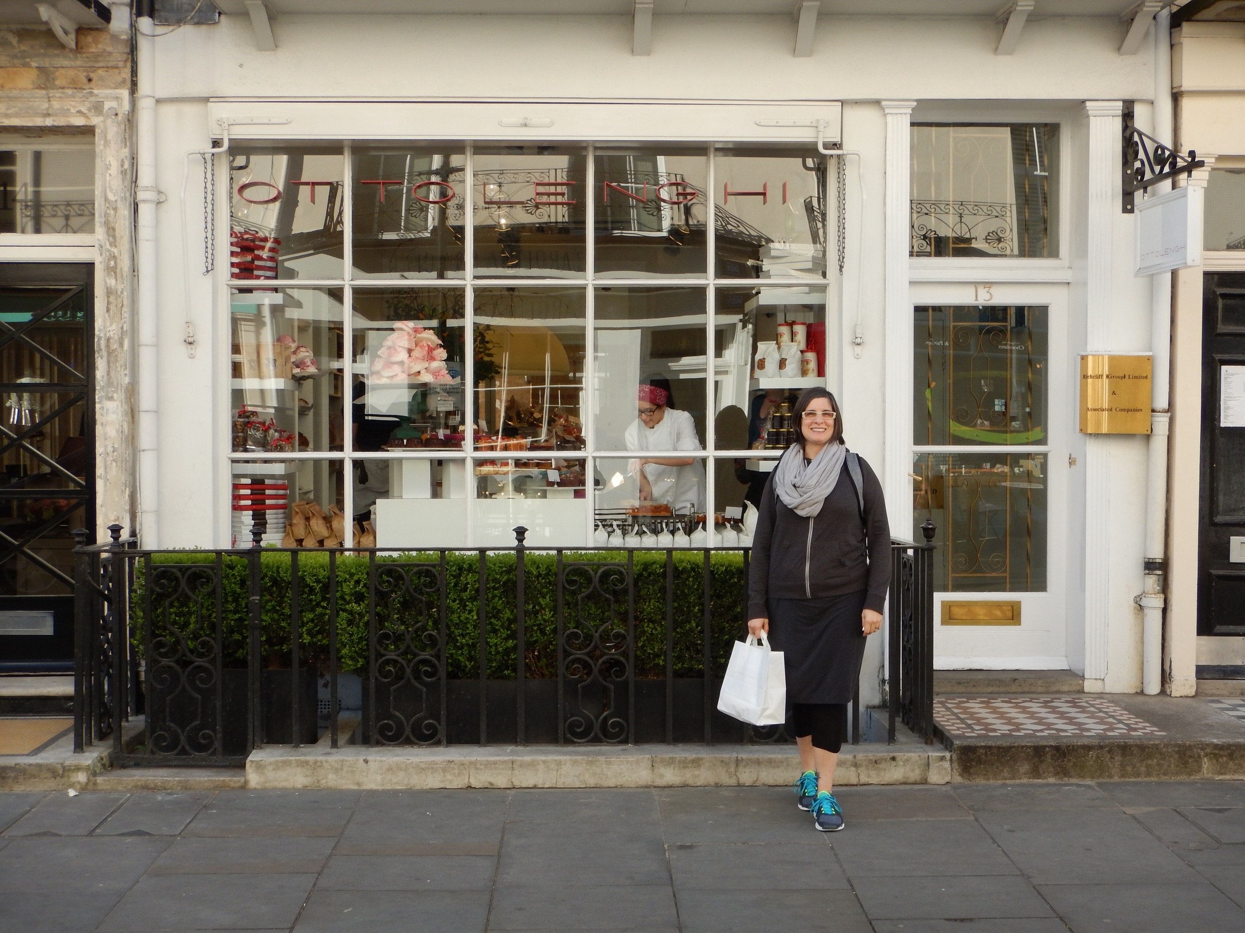 Small place, huge flavours: Ottolenghi. Excellent choice, Jenna!