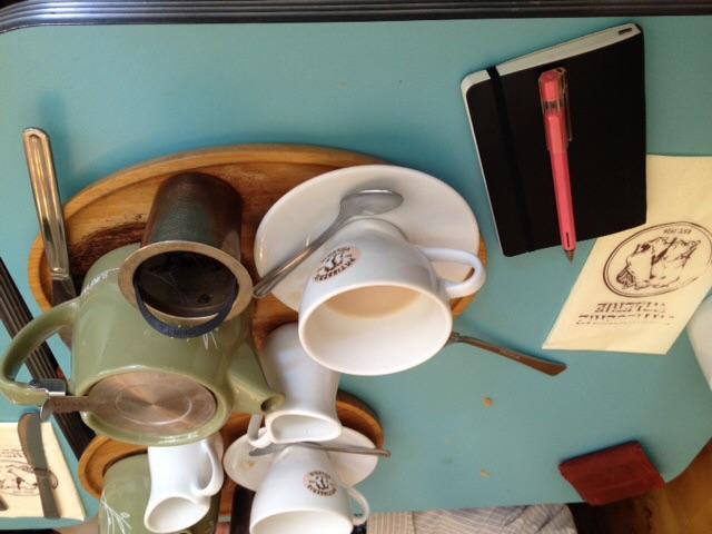 Teatime at Patisserie Valerie.