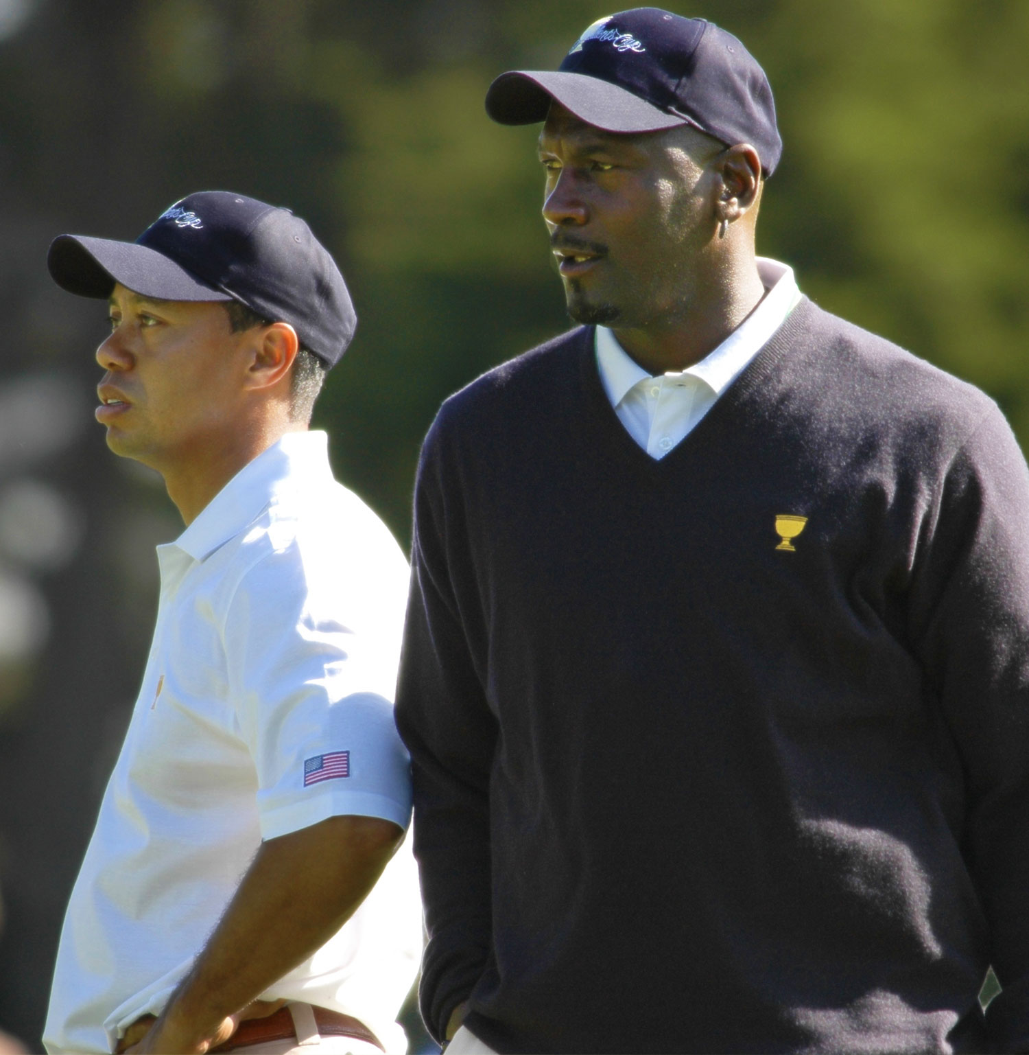 Michael Jordan and Tiger Woods