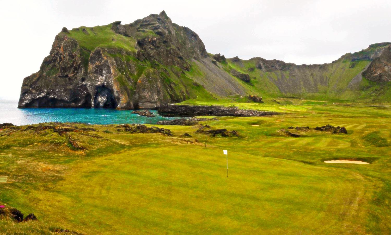 Vestmannaeyjar Golf Course Iceland, Robert Kaufman