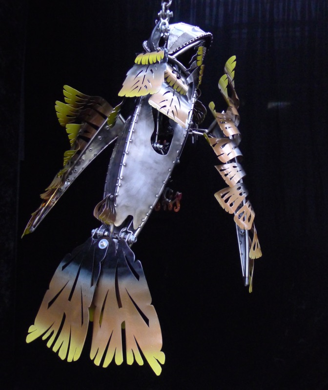Jack - the kinetic sculpture of a hummingbird by Chris Cole 013