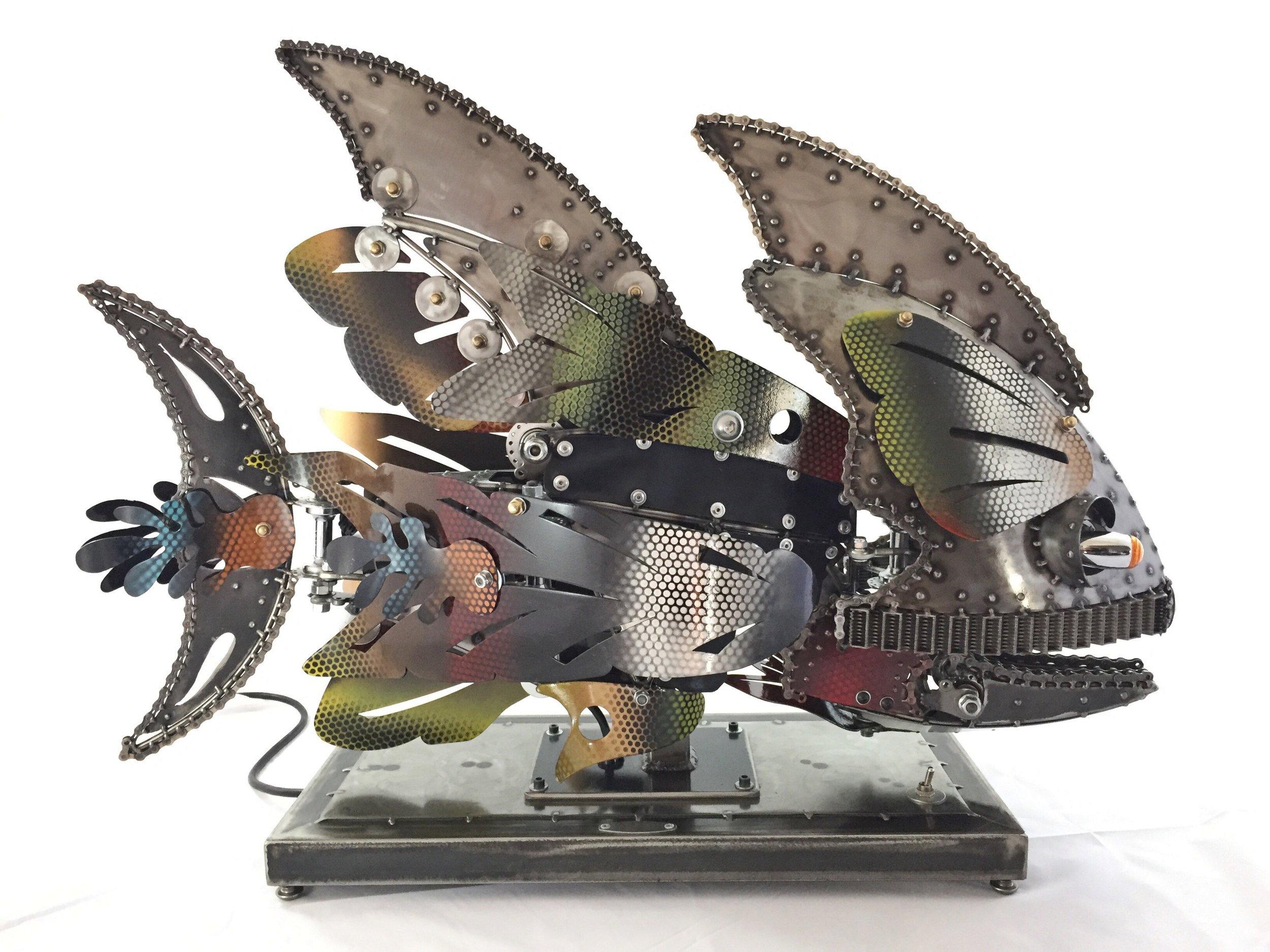 Rita KineticSculpture by Chris Cole detail 001