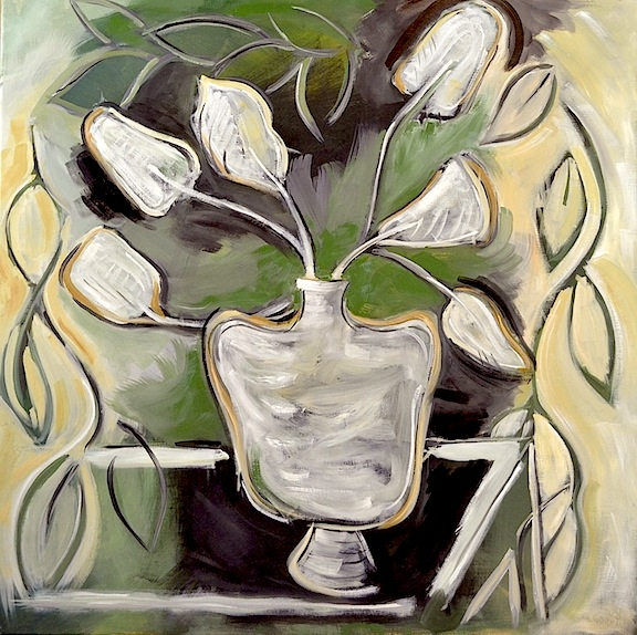 A Still Life  30x30  Oil/Canvas