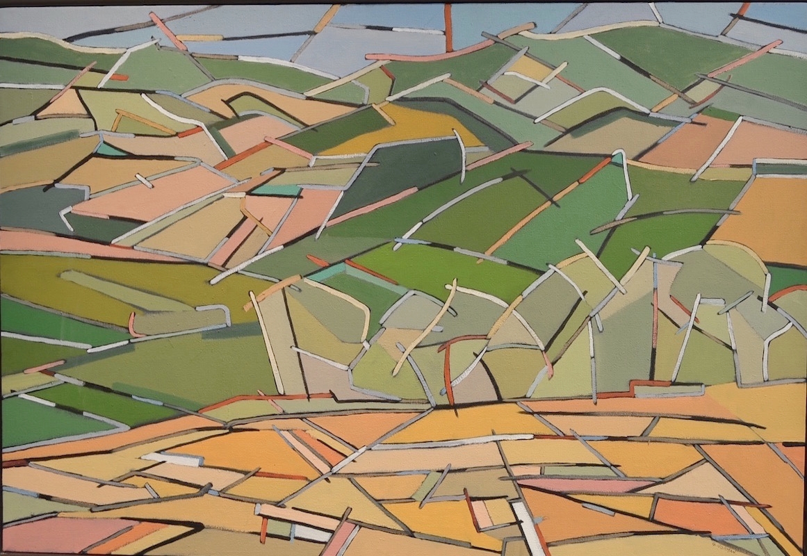 Abstract Tuscan Landscape 1  30 x 24  oil/canvas