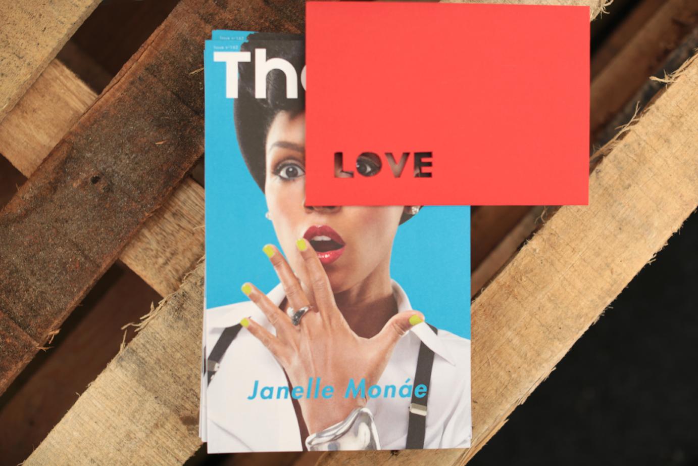 Hannah Kokoschka pop-up heart greetings cards at Lovebox festival