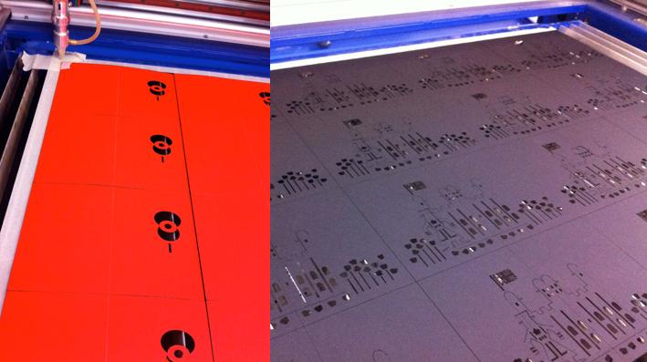 hannah kokoschka laser cutting Tower poppies pop-up cards