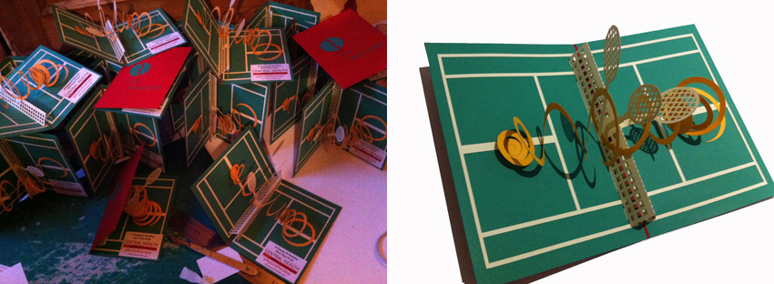 Hannah kokoschka bespoke pop-up cards