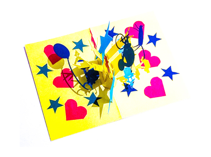 Circus  pop-up card