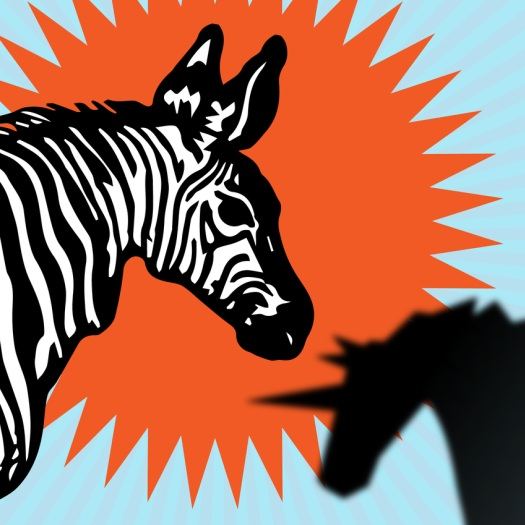 "TECHCRUNCH - The G.O.A.T. may be a zebra"" by Megan Rose Dickey"