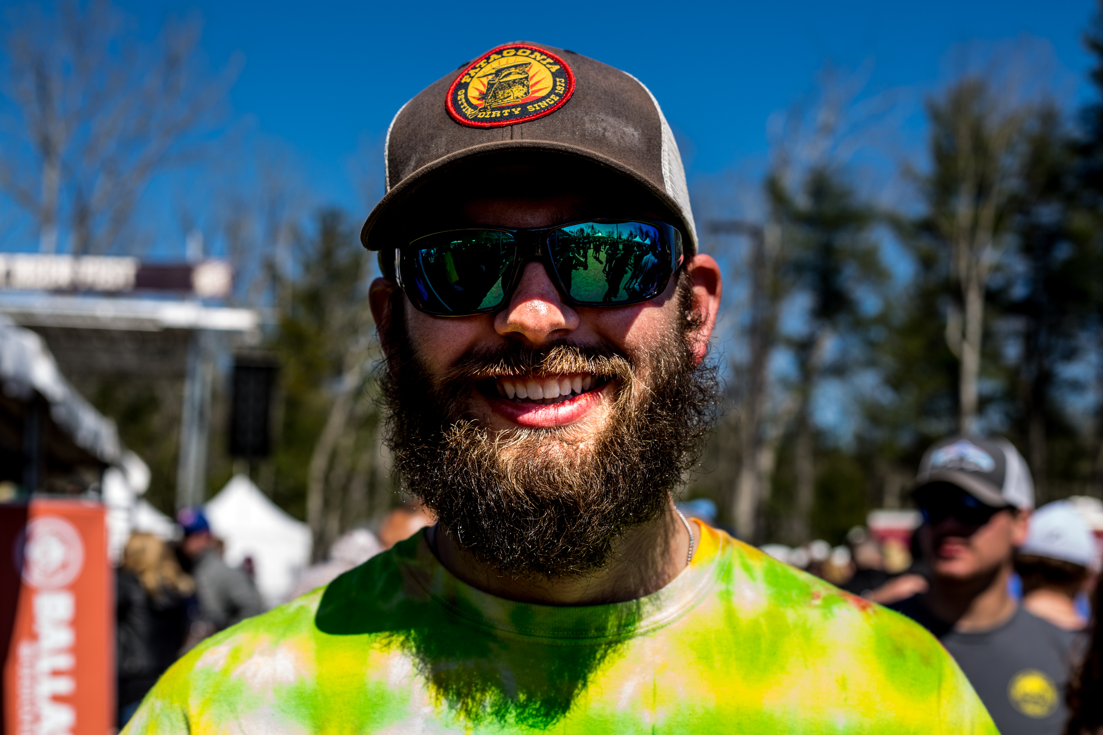 """Beard""  Friendly guy at the Burly Beer Festival - Sierra Nevada - Mills River, NC"