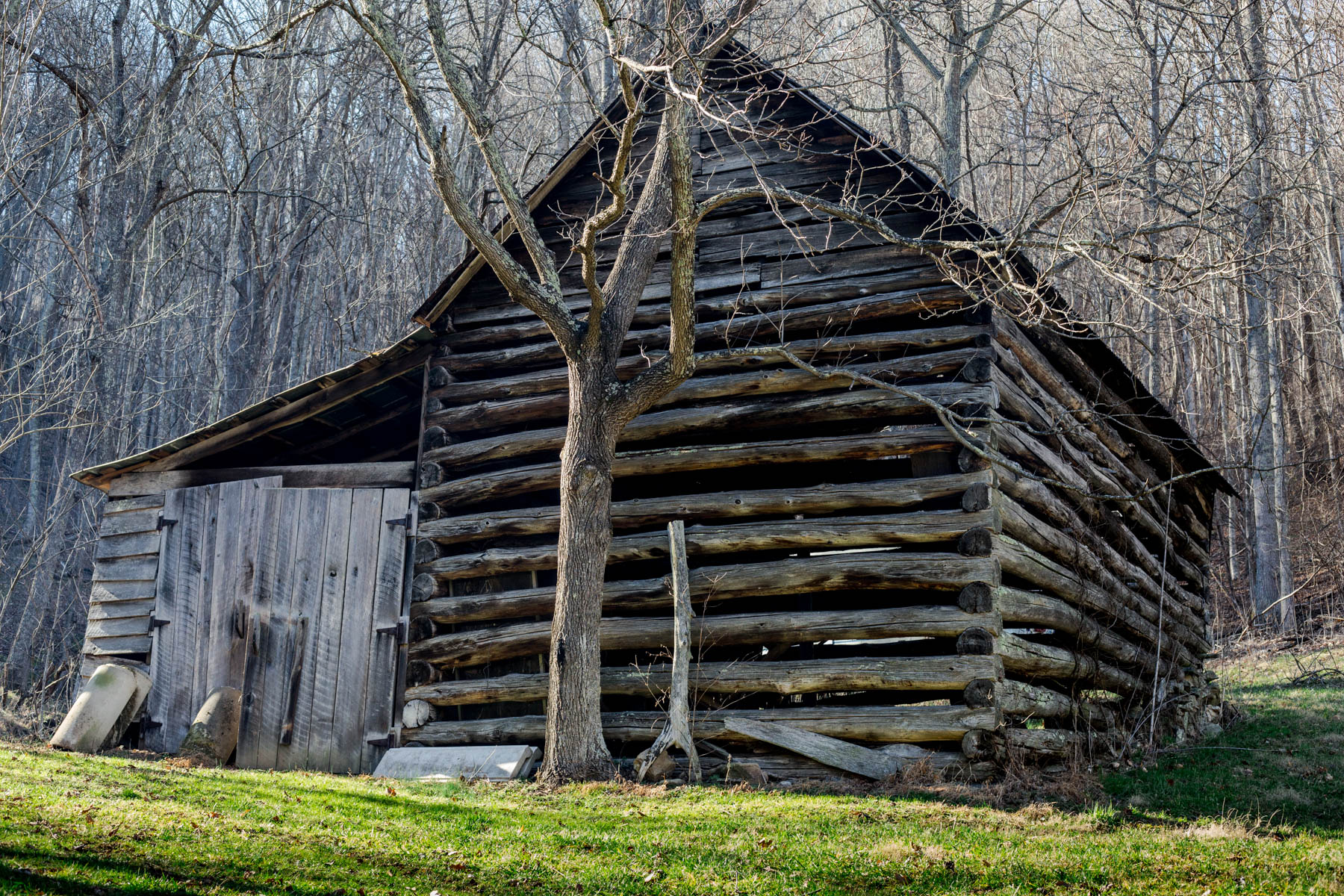 """Barn""  Old tobacco barn - Marshall, NC"
