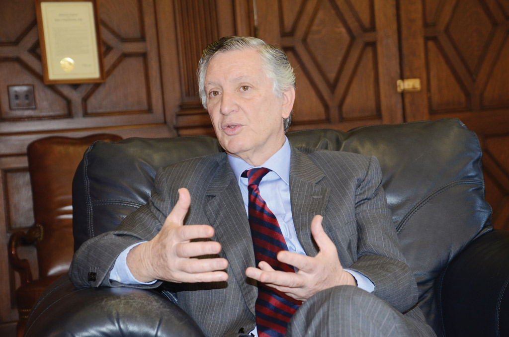 Embajador del Perú en Estados Unidos, Carlos Pareja. (Foto: Alvaro Ortiz / Washington Hispanic) Washington Hispanic)