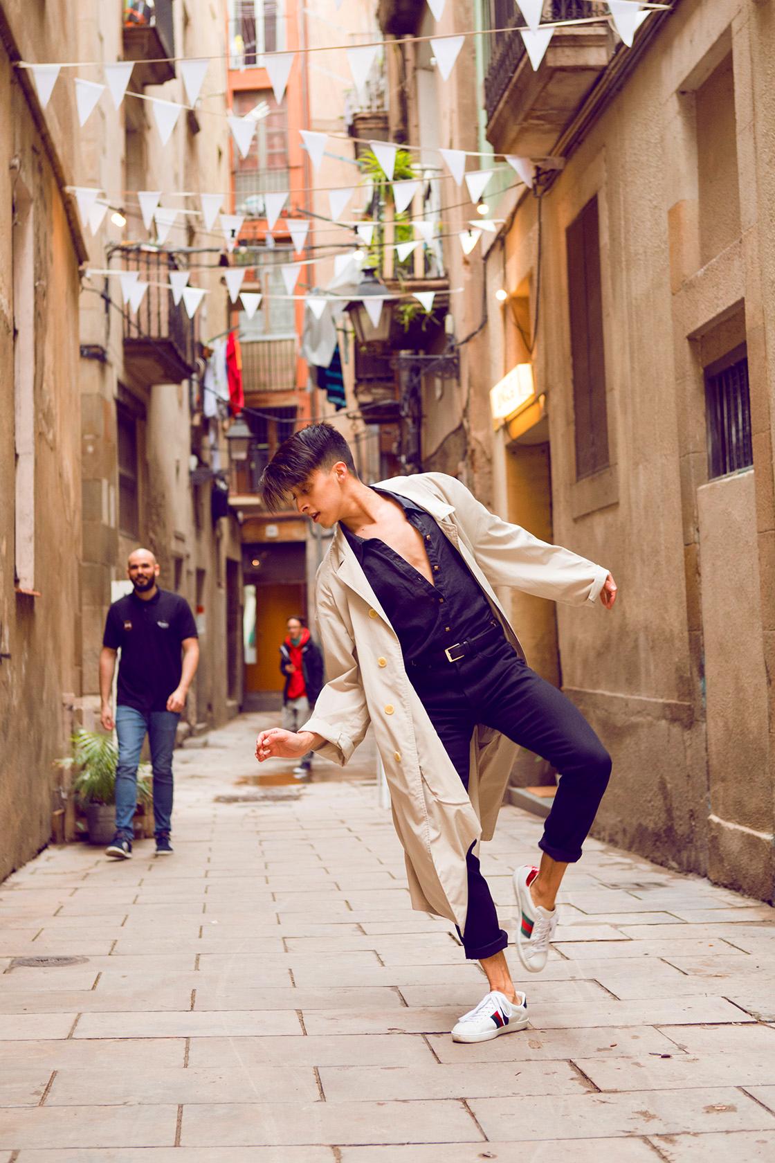bailarin barcelona