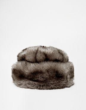 River Island Faux Fur Cosack Hat $34.11