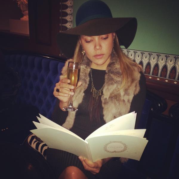 A woman wears many hats