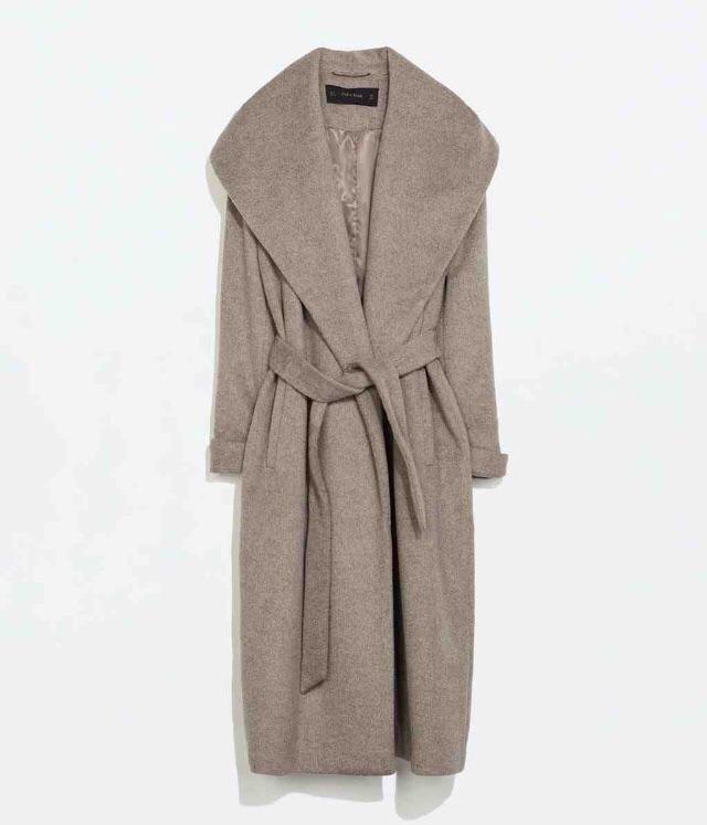 Wool Coat with belt