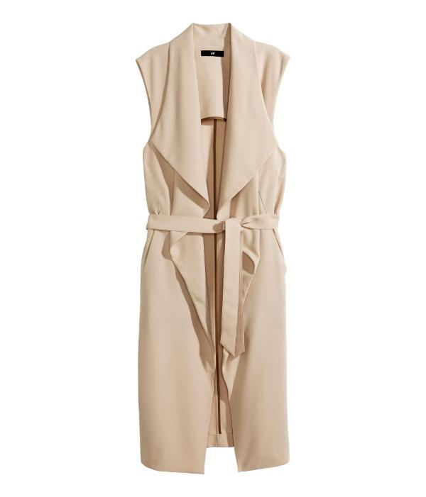 H&M Tench Vest  $49.95