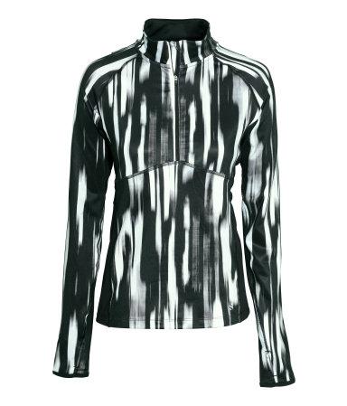 HM Black & White Running Jacket