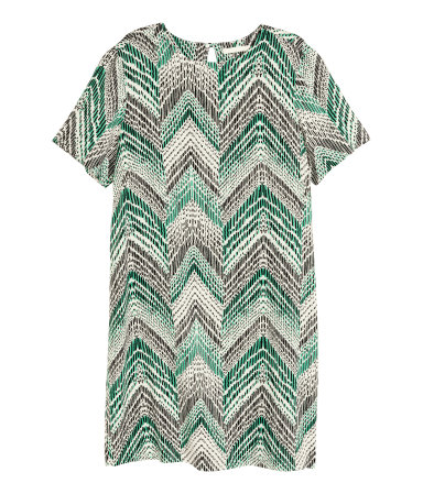 HM Short Sleeve Dress