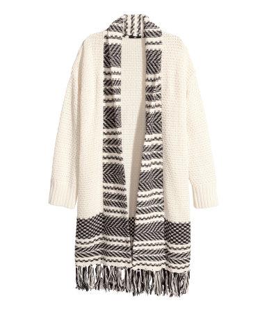 HM Jacquard Knit Cardigan