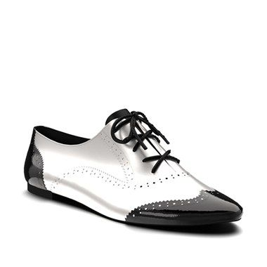 Shoes of Prey Leather Brogue Oxfords