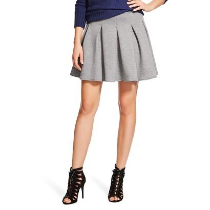Target Scuba Pleated Skater Skirt