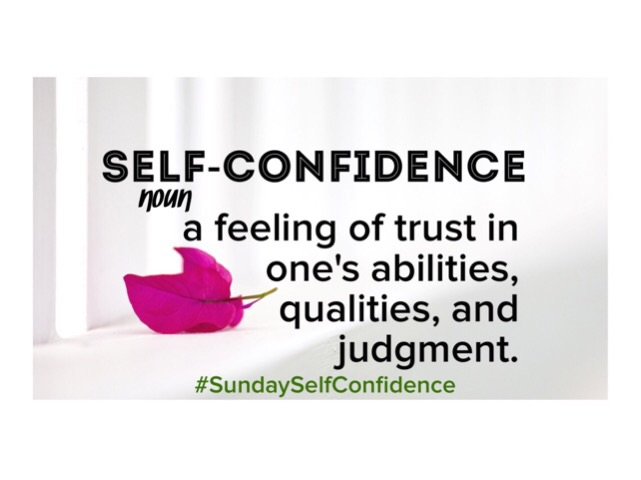Sunday Self-Confidence October Weekly Affirmations
