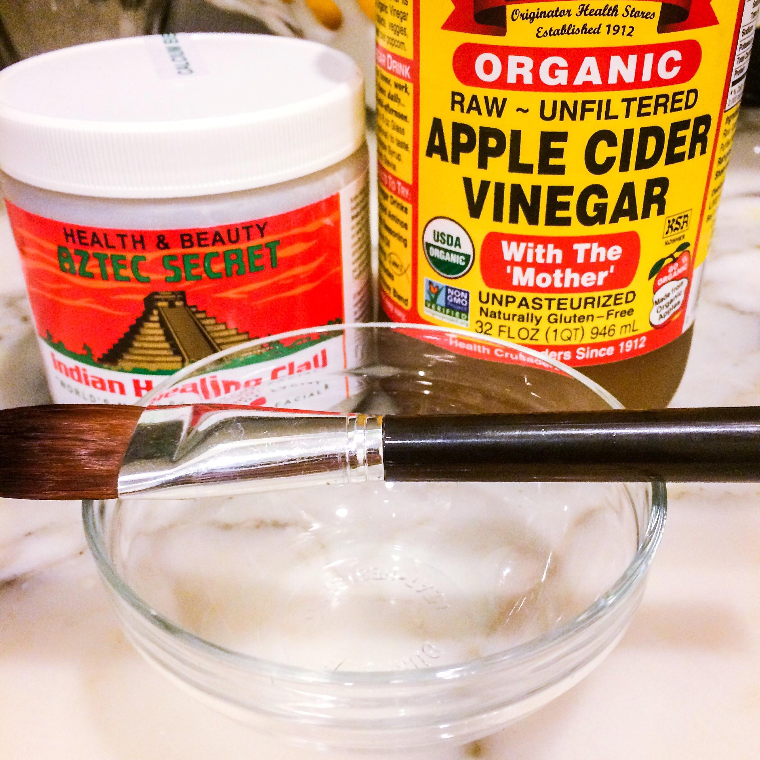 Buy  Indian Clay Mask  &  Apple Cider Vinegar  on  Amazon .