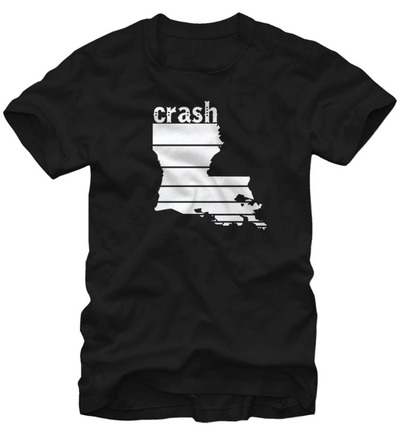 crash Louisiana tee - $20