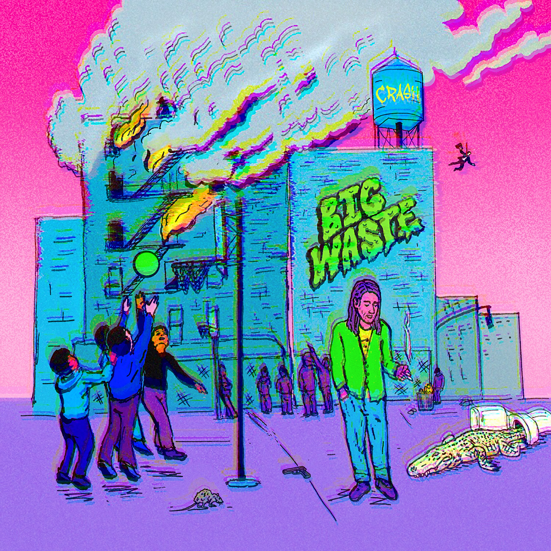 Big Waste - 201  8    crash richard
