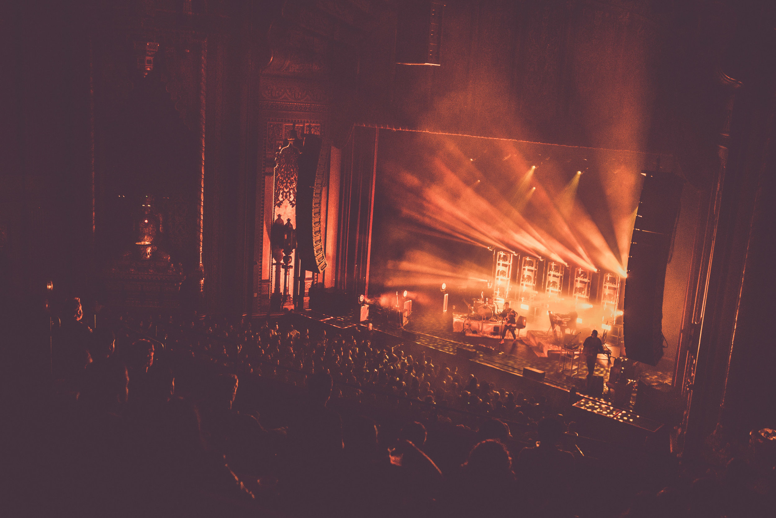 Fox Theater, Oakland, CA  + Photo by  Erika Reinsel