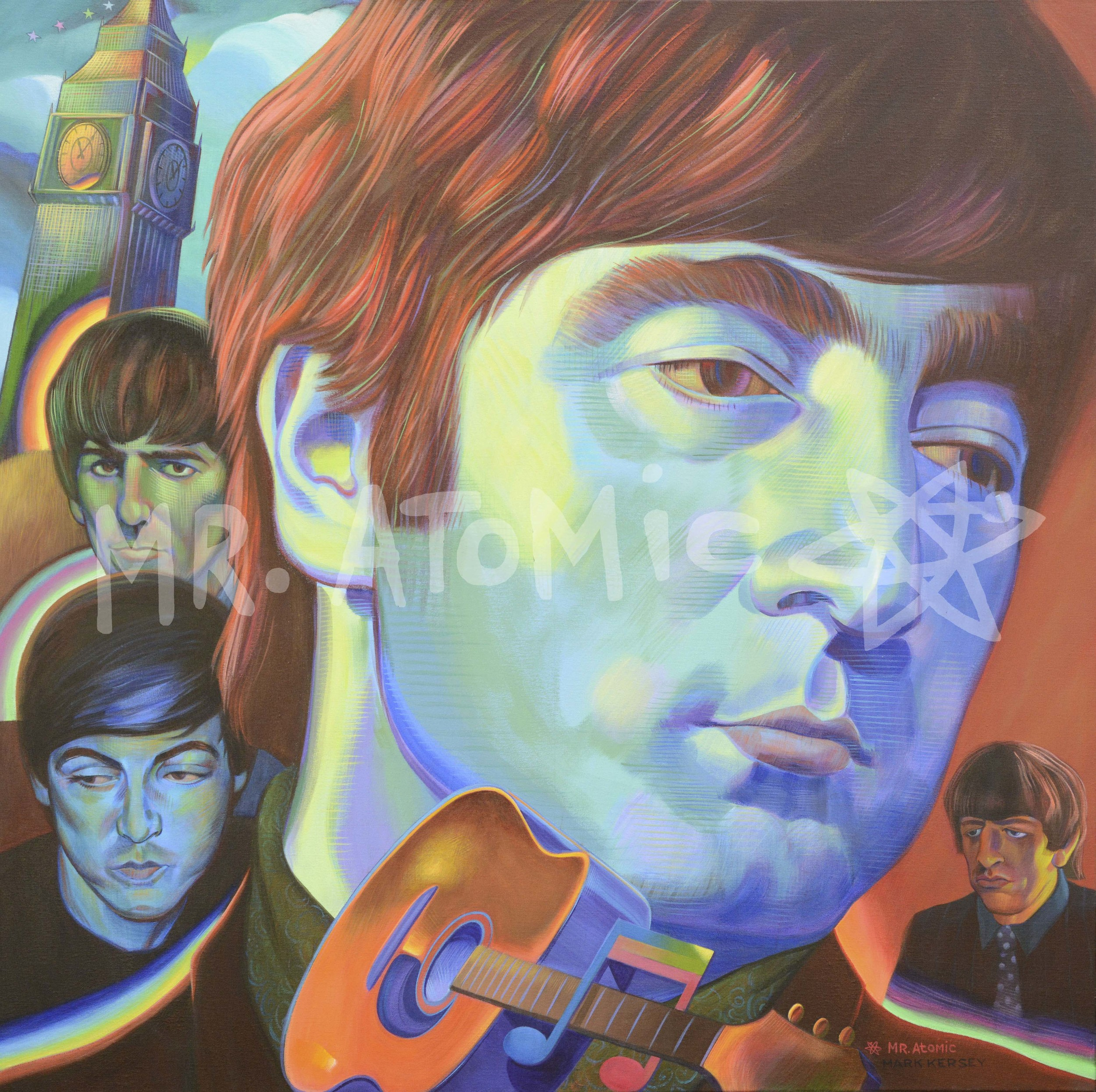 The Fab Beatles - 4'x4'