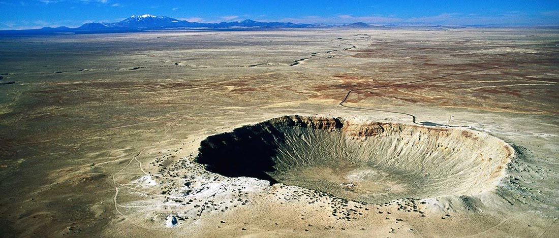Meteor Crater,Arizona.