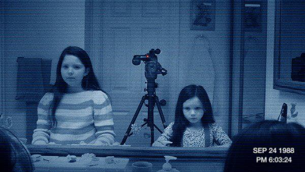 """Chloe as Katie in """"Paranormal Activity 3""""."""