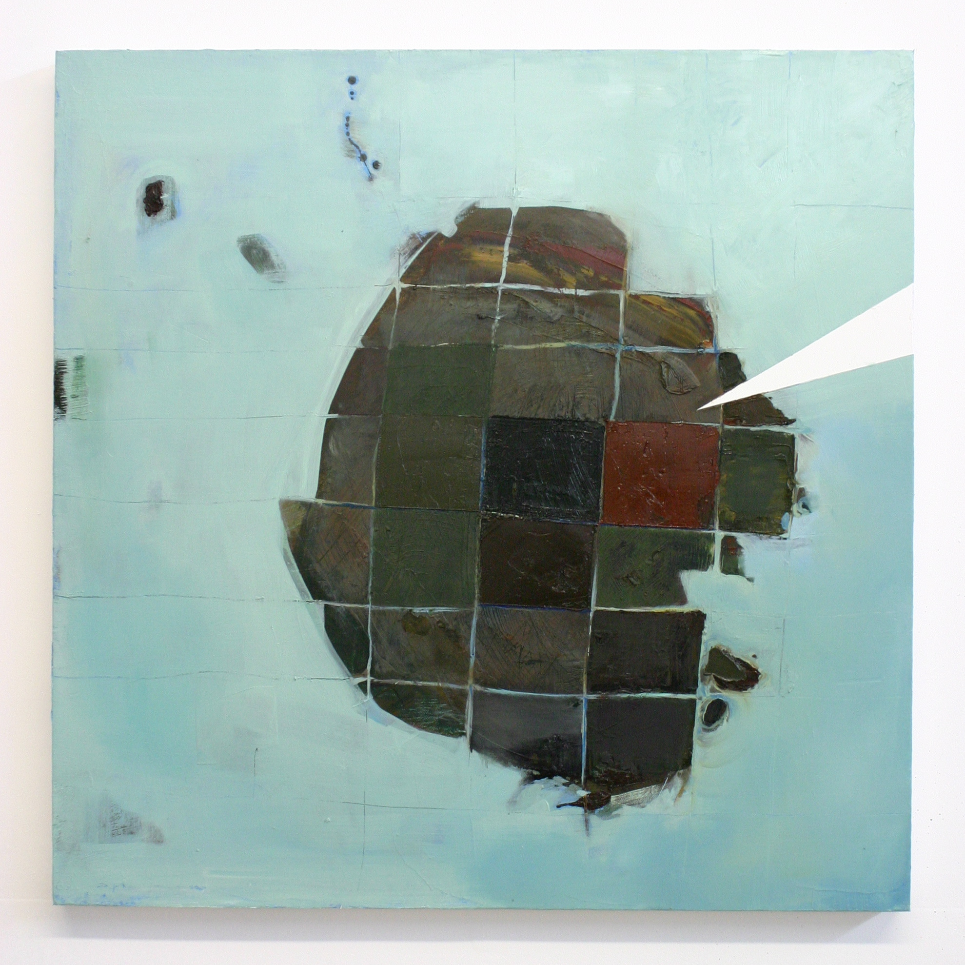 Archetype, 2012, oil on canvas, 24 x 24 inches