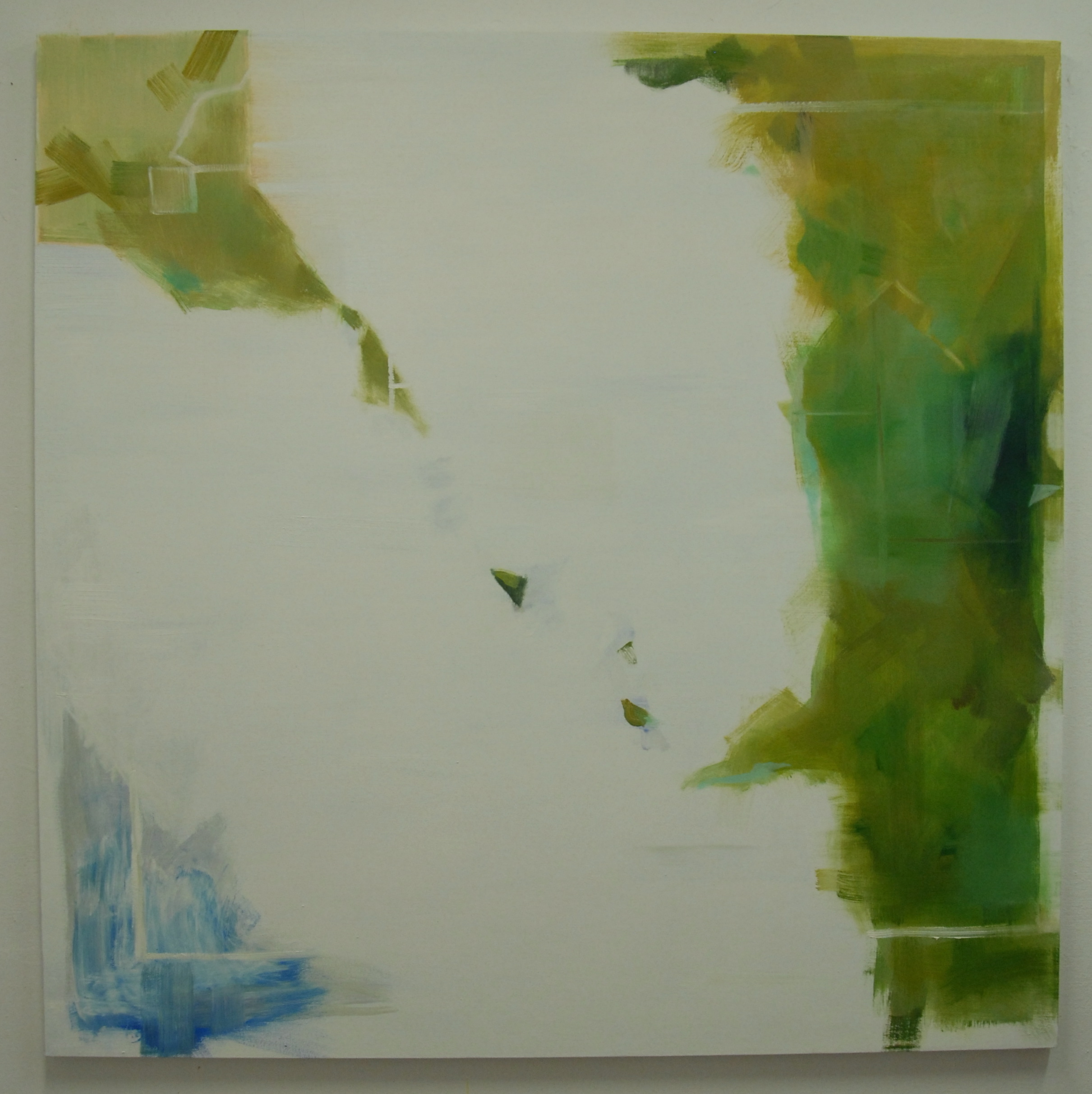 Hi Tide, 2012, oil on canvas, 60 x 60 inches