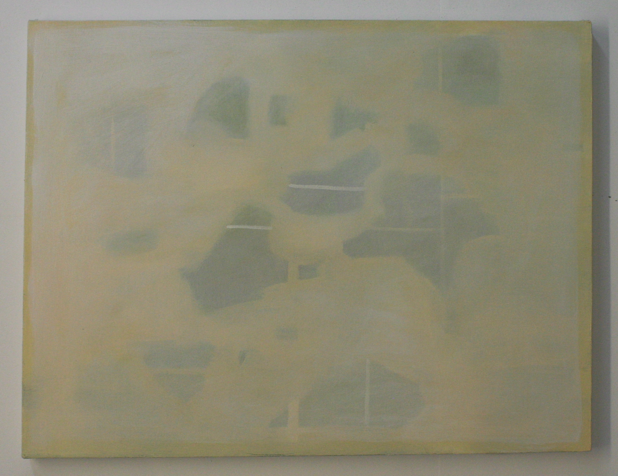 Archipelago #2, 2012, oil on canvas, 26 x 34 inches